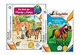 tiptoi Buch Set - Die Welt der Pferde und Ponys und Das tollste Pony der Welt