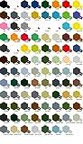 3 Botes de pintura acrílica Tamiya serie X- XF (a elegir de la carta de colores)