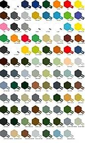 Tamiya Série X-XF Lot de 3 pots de peinture au latex Couleurs aux choix