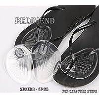 pedimend Silikon Gel Ball of Foot Kissen Pads Einlegesohlen (2pairs–4)–selbstklebend Weich Silikon Gel Pads... preisvergleich bei billige-tabletten.eu