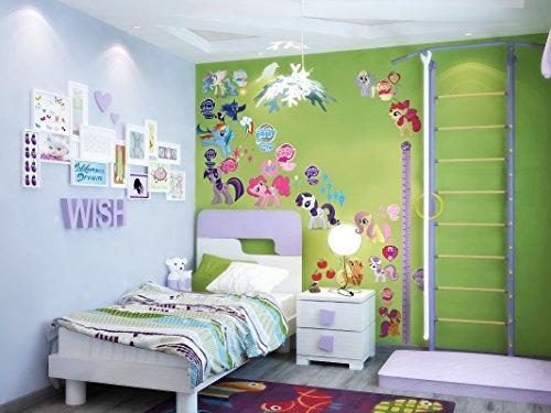 atto Kinder-Lieblings-Charaktere Wandtattoo, Vinyl, Motiv: Wandkunst | S2MLP 75cm X 70cm (My Little Pony-wiederverwendbare Aufkleber)