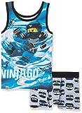 Lego Wear Jungen Unterwäsche-Set Lego Boy Ninjago CM-73120, Mehrfarbig (Blue 569), 152
