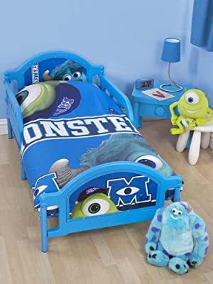 Character World - Cama infantil, diseño de Monstruos University de Disney, multicolor