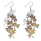 Fashion Drop Dragonfly Design Hook Earri...
