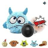 JLCYYSS Quietschendes Automatisches Ball-Wechselwirkendes Plüsch-Hundespielzeug, Elektronischer Bewegungserschütterung Verrückter Prahler-Spielzeug Für Kleines Mittleres Hündchen,1