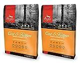 2 x 5,4 kg Orijen gato y gatito pollo, Turquía y peces gato comida Multibuy
