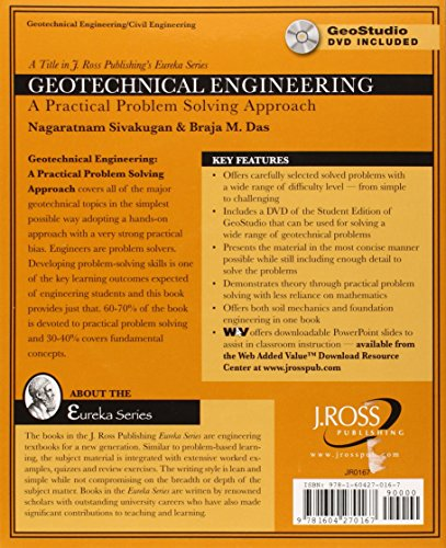 Geotechnical Engineering with DVD Rom (Eureka)