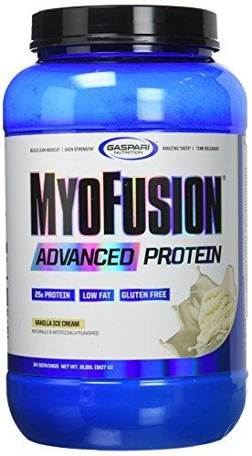Gaspari nutrition - myofusion advanced 2lb vanilla cream