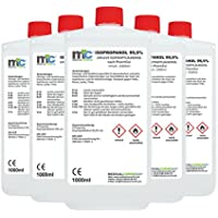 5x 1000 ml Medicalcorner24® Isopropanol 99,9% Isopropylalkohol Cleaner 2-Propanol preisvergleich bei billige-tabletten.eu