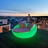 Sofa mit Licht LED Formentera