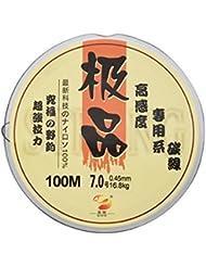 Monofilaments Câble Noir 0,45 mm-bobine de 100 m de fil de pêche