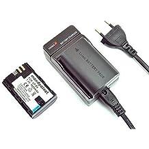 mondpalast Batería LP-E6 LPE6 X2 + cargador + coche cargador para Canon 70D 60D, 7D, 6D, 5D Mark II, III , 700D , 7D Mark II, 5DS 5DS R LC-E6