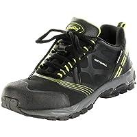 ConWay Outdoor-Wander-Trekking-Schuhe schwarz Softshell TEX Herren Damen Jackson, Größe:46, Farbe:schwarz