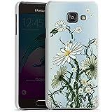 Samsung Galaxy A3 (2016) Housse Étui Protection Coque Fleurs Fleurs Vrilles