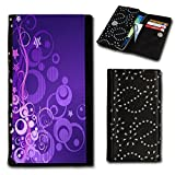 Book Style Flip Handy Tasche Case Schutz Hülle Foto Schale Motiv Etui für ZTE Blade C341 - Flip SU1 Design1