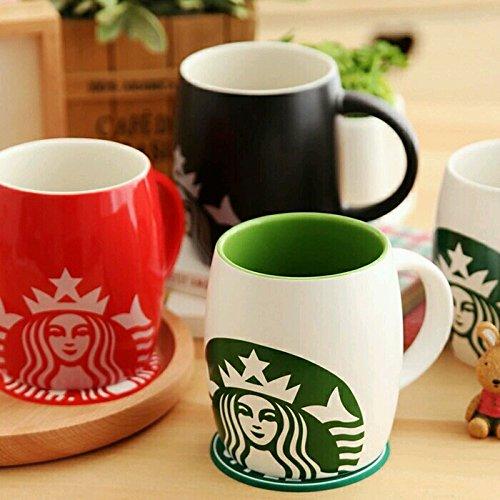 Gifts Loft Starbucks Coffee Ceramic Mug 360 ml (Random color)