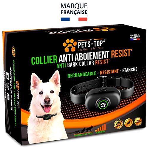 Collier Anti Aboiement Chien Automatique Electrique One PETS-TOP