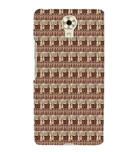 Fuson Designer Back Case Cover for Gionee M6 Plus :: Gionee M6+ ( Ethnic Pattern Patterns Floral Decorative Abstact Love Lovely Beauty )