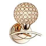 GRFH Lampes murales en cristal modernes K9 La boule de cristal Ensemble d'escalier Lustre de banlieue Applique murale Ombre pour décoration intérieure Luminaire