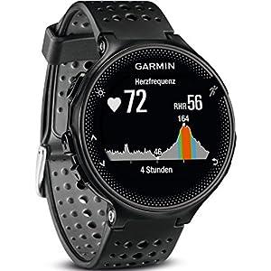 Garmin Forerunner 235 GPS Sportwatch con Sensore Cardio al Polso e Funzioni Smart, Nero/Blu Ghiaccio 2 spesavip