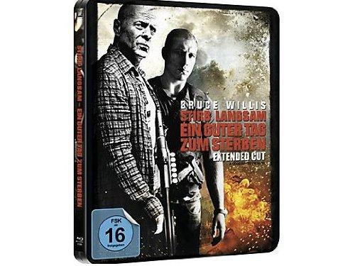 Stirb langsam - Ein guter Tag zum Sterben - Extended Cut (Limited Exklusiv Steelbook) [Blu-ray]