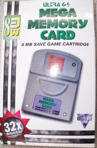 Ultra 64 Mega Memory Card 8 MB für Nintendo 64