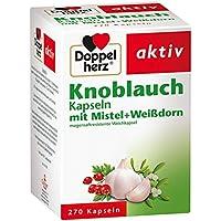 Doppelherz Knoblauch Kapseln mit Mistel und Weißdorn, 270er preisvergleich bei billige-tabletten.eu