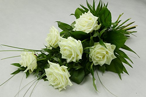 BLUMENVERSAND: Blumenstrauß Trauer, Blumenstrauß Tod, Mann und Frau - frisch und beste Qualität
