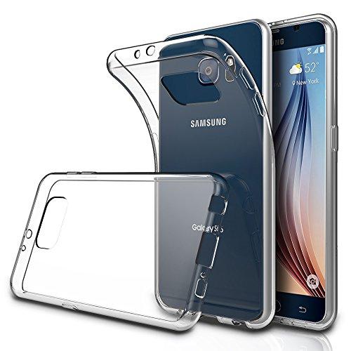 Simpeak Funda Compatible Samsung Galaxy S6 5.1'(Pack of 2), Funda Transparente...
