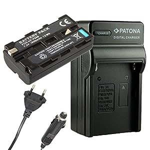 Chargeur PATONA + Batterie pour SONY NP-F330 NP-F530 NP-F570 NP-F550