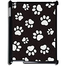 For New Ipad Or Ipad 2 3 4 Plastic Boy Phone Case Print With Dog Paw 4 Pretty