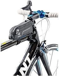 Deuter 32672 - Bolsa para cuadros de bicicleta (7 x 5 x 14 cm), color negro