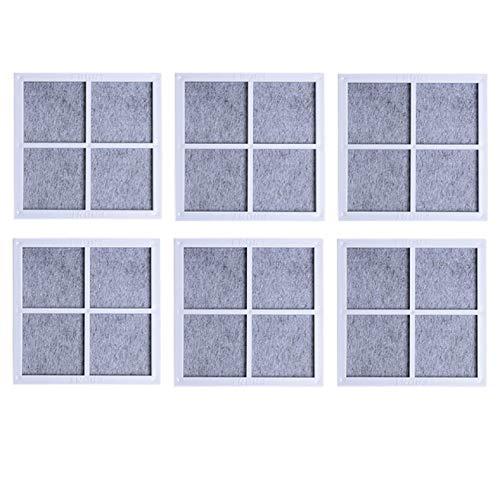 Nicolarisin Authentic Home Electronic Zubehörteile - Effektiv \u0026 Erschwinglich - Kühlschrank Luftfilter Luftreiniger Filterkernbeschläge für LG LT120F 6-TLG - Lg Filter Kühlschrank Air
