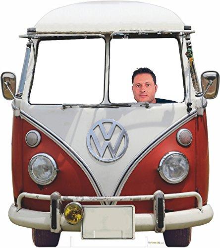 Oedim Photocall Volkswagen Clásica para bodas 1,50x1,70m | 1cm de Grosor | Artículo Para Bodas/Celebraciones/Eventos | Contiene 2 Peanas Para un Apoyo Excelente