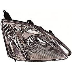 Ultimate Styling Electric Adjustment Halogen Headlight/Headlamp With Load Level Motor Drivers Side O/S Internal Colour (Bezel) Smoked Chrome Inner