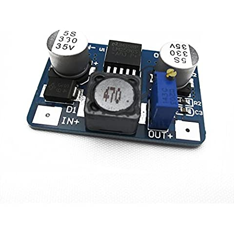 Lm2596 DC-DC BUCK REGOLABILE IN4.5-35V OUT1.25-26Modulo V/2A