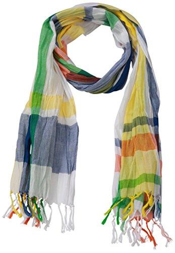 James & Nicholson Unisex Schal Coloured Scarf, Mehrfarbig (Azur/Yellow/Orange), One Size Preisvergleich