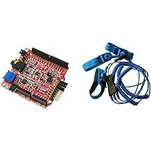 SHIELD-EKG-EMG with SHIELD-EKG-EMG-PA EKG EKG arduino shield kit including lead by Olimex