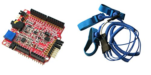 SHIELD-EKG-EMG + SHIELD-EKG-EMG-PA Arduino Elektrokardiographie EKG und EMG Electromiography Schild