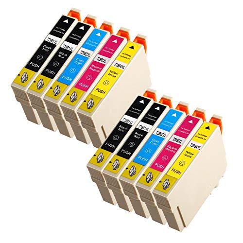 Azprint 10er Kompatibel Epson 29XL 29 XL Patronen Ersatz für Epson XP 342 Tintenpatronen für Epson Expression Home XP 342 332 442 345 445 245 235 247 255 257 335 352 355 432 435 452 455 Drucker - 4 Schwarz, 2 Cyan, 2 Magenta, 2 Gelb