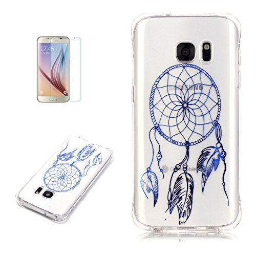casehome-samsung-galaxy-s7-edge-silicone-gel-case-with-free-screen-protector-glitter-sparkle-metal-e