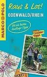 MARCO POLO Raus & Los! Odenwald, Rhein: Das Package für unterwegs: Der Erlebnisführer mit großer Erlebniskarte