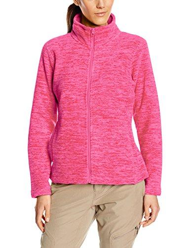 Stedman Apparel Active Melange Fleece Jacket/st5140, Pull de Sport Femme Rose - Pink (Pink Melange)