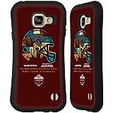 Officiel NFL Jacksonville Jaguars Casque 2017 London Games Teams Étui Coque Hybride pour Samsung Galaxy A3 (2016)