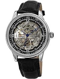 3ae84c9cc7c7 Akribos XXIV Skeleton AK1073 - Reloj de Pulsera mecánico automático con  Correa de Piel ...