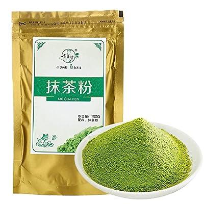 VANKER 100g Japonais Matcha Poudre de Thé Vert Naturel Perdre du Poids Beauté du Corps