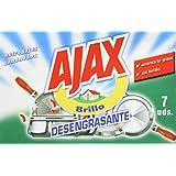Ajax–à récurer jabonosos (7pièces)–[Lot de 12]