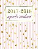 Telecharger Livres Agenda etudiant Planning scolaire hebdomadaire rose pale avec mouchetures dorees brillantes (PDF,EPUB,MOBI) gratuits en Francaise