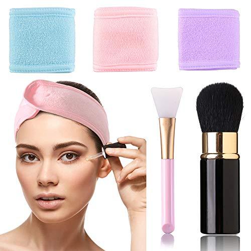 Spa, diadema facial maquillaje, toalla cabeza, yoga