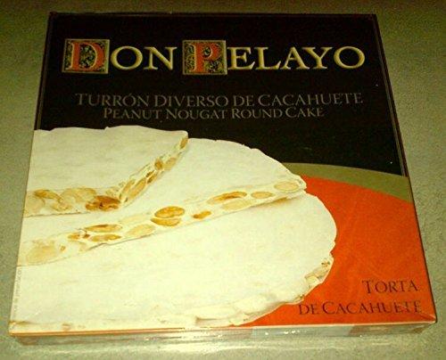 Turron de cacahuètes Tortas - Don Pelayo 200grs - lot de 2 unités
